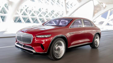 Vision Mercedes-Maybach Ultimate Luxury concept - front