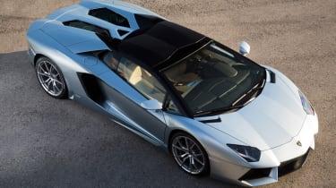 Lamborghini Aventador Roadster front static