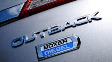 Subaru Outback 2.0D SE NavPlus badge