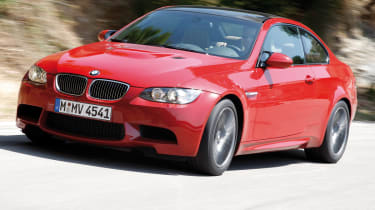 BMW M3 front tracking