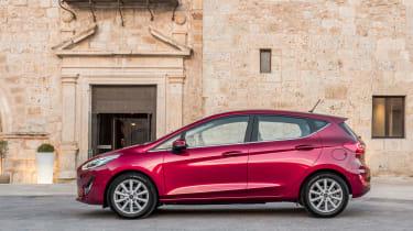 Ford Fiesta Titanium 2017 side on
