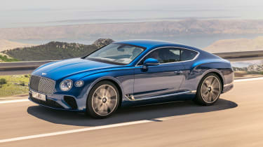 Bentley Continental GT - front action