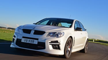 Vauxhall VXR8 GTS - front action