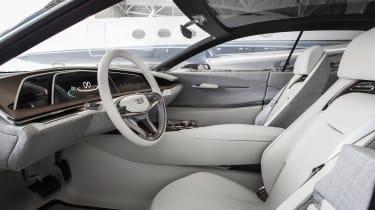 Cadillac Escala concept - interior