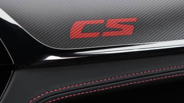 BMW M5 CS - CS badge