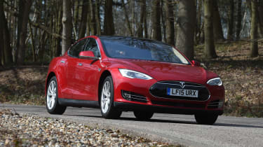Tesla Model S long-term final report - front cornering