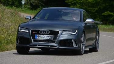 The RS7's chassis does not suit UK roads.