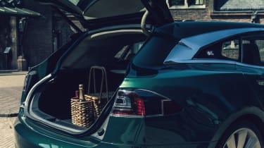 Tesla Model S Shooting Brake estate luggage capacity