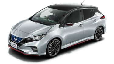 Nissan Leaf Nismo - silver