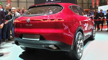 Alfa Romeo Tonale - Geneva rear