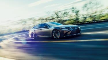 Lexus LS review - side
