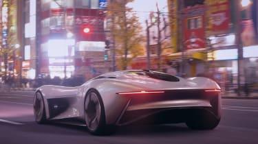 Jaguar Vision GT concept - rear Tokyo