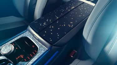 BMW M850i Night Sky - interior detail
