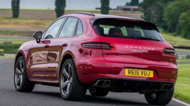 Porsche Macan Turbo - rear static