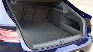 Twin test - VW Arteon - boot