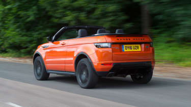 Range Rover Evoque Convertible - rear