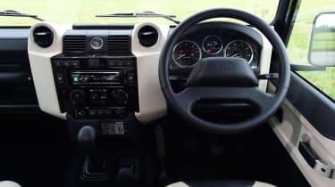 Land Rover Defender Autobiography - interior