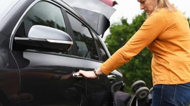 Kia e-Niro long termer - car door