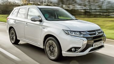 Best cheap 4x4s and SUVs - Mitsubishi Outlander PHEV
