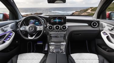 Mercedes GLC Coupe - interior