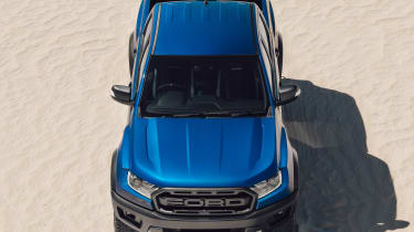 Ford Ranger Raptor - overhead