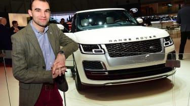 2018 Geneva Motor Show stars - Range Rover SV Coupe James Batchelor