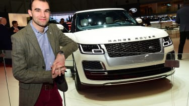 2018 Geneva Motor Show stars - Range Rover SV Coupe James Batchelor
