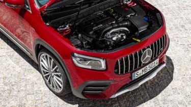 Mercedes-AMG GLB 35 - engine