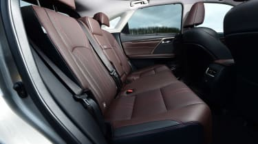 Lexus RX - rear seats