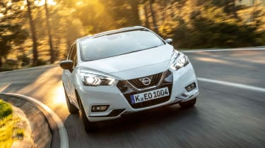 Nissan Micra N Sport - front action