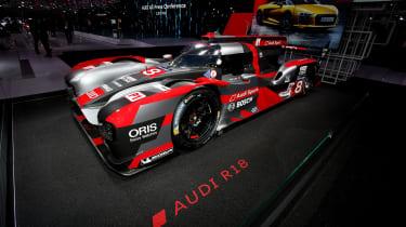 Audi R18 at Paris 2016