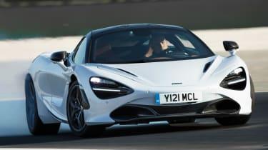 McLaren 720S - front drifting