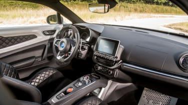 Alpine A110 ride review - interior