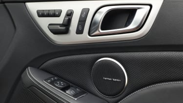 Mercedes SLK55 AMG detail