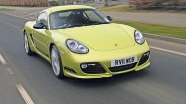 Porsche Cayman R frontr