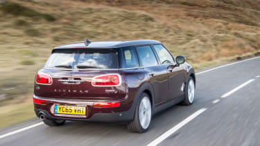 MINI Cooper D Clubman 2015 rear