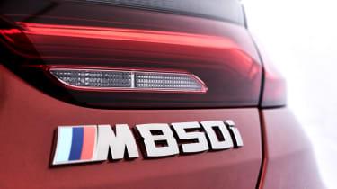 BMW 8 Series - M850i badge