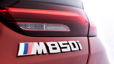 BMW 8 Series - M850i badge