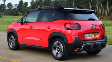 Citroen C3 Aircross - rear