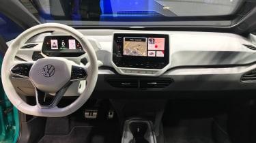 Volkswagen ID.3. - interior Frankfurt