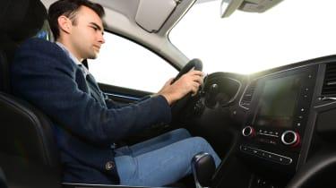 New Renault Megane 2016 hatchback GT James Batchelor