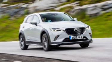 Mazda CX-3 GT Sport - front action
