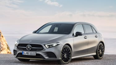 New Mercedes A-Class - front static