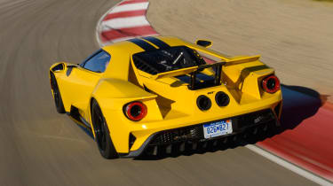 Ford GT - track rear