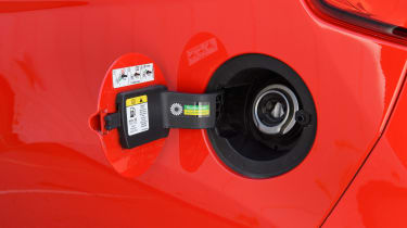 Used Ford Fiesta ST - fuel cap