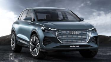 Audi Q4 e-tron concept - front studio