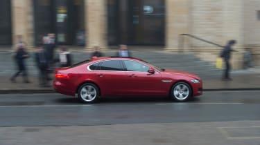 Jaguar XF long term - second report side