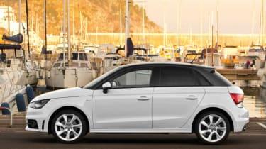 Audi A1 Sportback 1.6 TDI panning