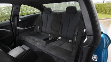 BMW 440i - rear seats