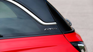 <span>The blend of small rear windows and thick C-pillars on the Adam means the £275 optional parking sensors will be worthwhile.</span>